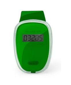 Podomètre clip ceinture compteur de pas vert