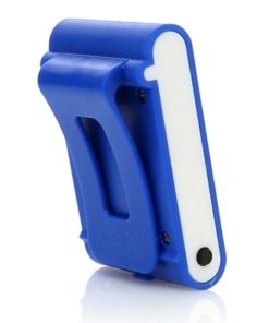 Podomètre compteur de calories bleu clip ceinture