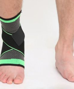 bandage strapping cheville vert anti tendinite