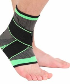 bandage strapping pour cheville vert