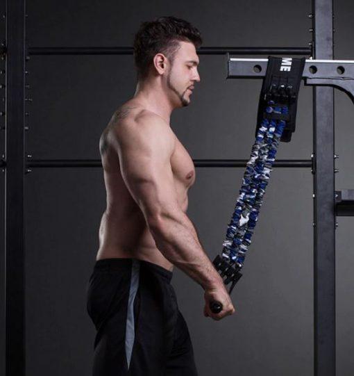 bande elastique de resistance pour exercice de triceps