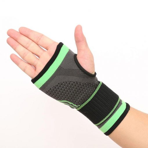 strapping vert poignet musculation confortable