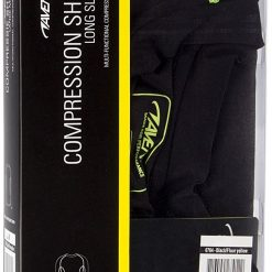 T-shirt a manches longues de musculation compression packaging