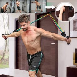 elastiques musculation fitness fixation cadre de porte