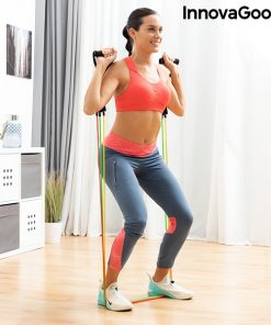 elastiques resistance musculation fitness exercice developpe militaire