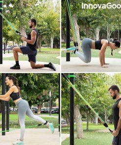 elastiques resistance musculation fitness fixation cadre de porte exercices fixation barres