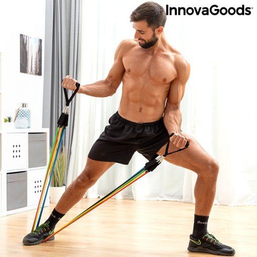 elastiques resistance musculation fitness fixation cadre de porte