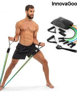 elastiques musculation fitness kit lot