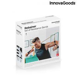 elastiques resistance musculation fitness fixation cadre de porte packaging