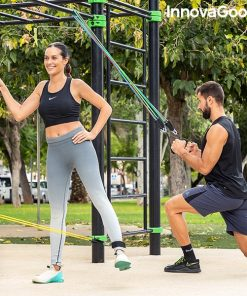 elastiques resistance musculation fitness fixation street workout