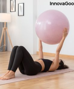 Exercices bras avec swiss ball stable et elastiques fitness