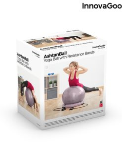 Packaging Swiss ball stable et elastiques fitness