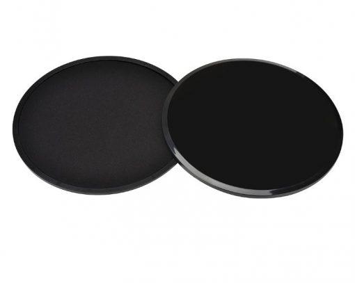 paire de disques glissant fitness noire