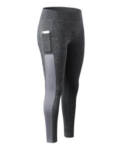 legging sport avec poche telephone gris pantalon seul