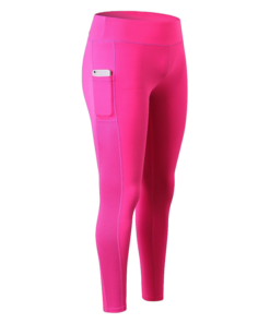 legging sport avec poche telephone rose pantalon seul