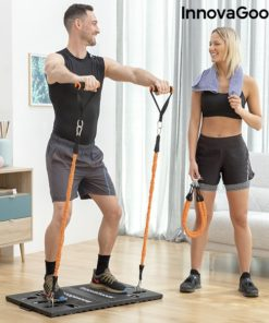 Kit musculation maison exercice elevations frontales