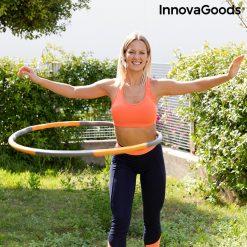 anneau de fitness demontable et recouvert de mousse bruler calories