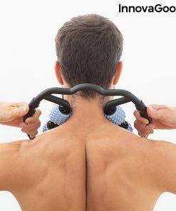 automasseur musculaire 360 degres anti cellulite cou