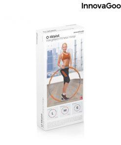 cerceau hula hoop retractable demontable adulte anneau de fitness demontable packaging