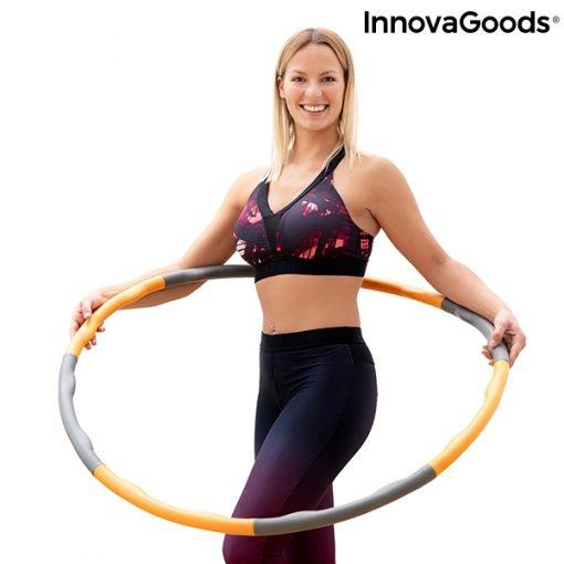 cerceau hula hoop retractable demontable adulte anneau de fitness perte de poids