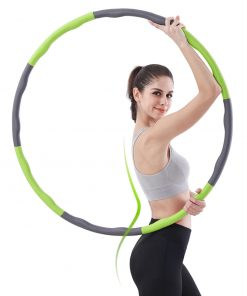 cerceau hula hoop retractable demontable reglable adulte mixte