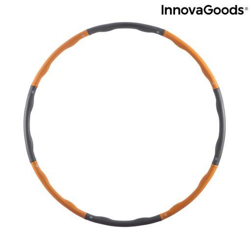 cerceau hula hoop taille reglable retractable demontable adulte mixte vert dimensions 75 a 95 cm 1 kg