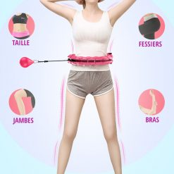 smart hula hoop fitness bienfaits muscles corps