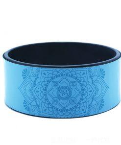 roue de yoga bleue