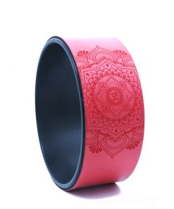 roue de yoga rouge