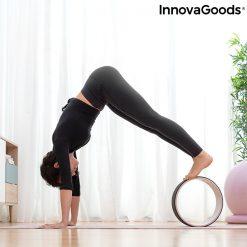 roue pour le yoga posture