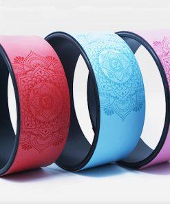 roue de yoga trois couleurs