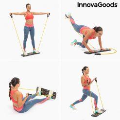 Exercices entrainement planche a pompes avec elastiques