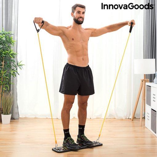Homme tirage planche a pompes avec elastiques