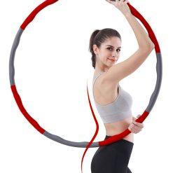 cerceau hula hoop fitness calories 1.2kg 100 cm pour mincir