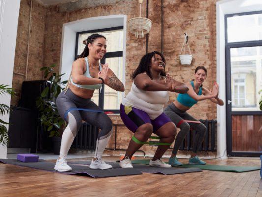 exercices avec bandes elastiques de resistance