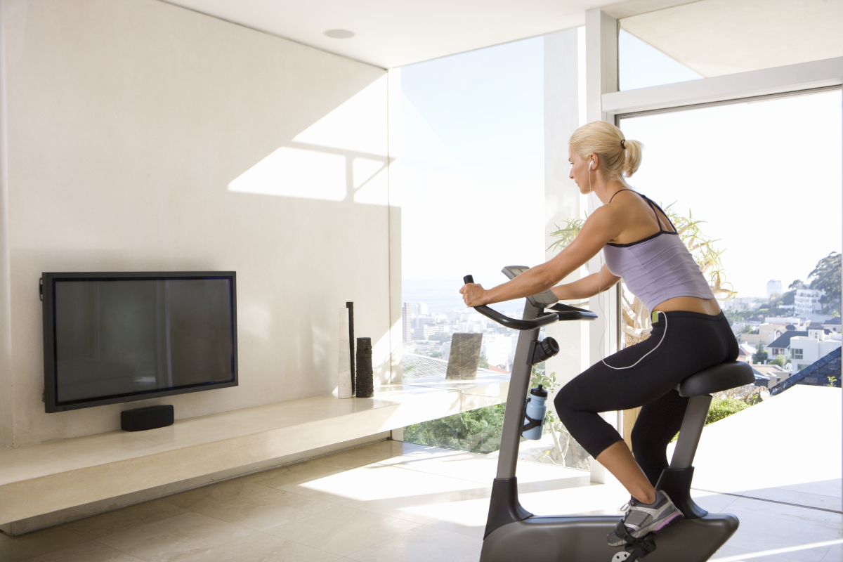 seance exercice velo appartement