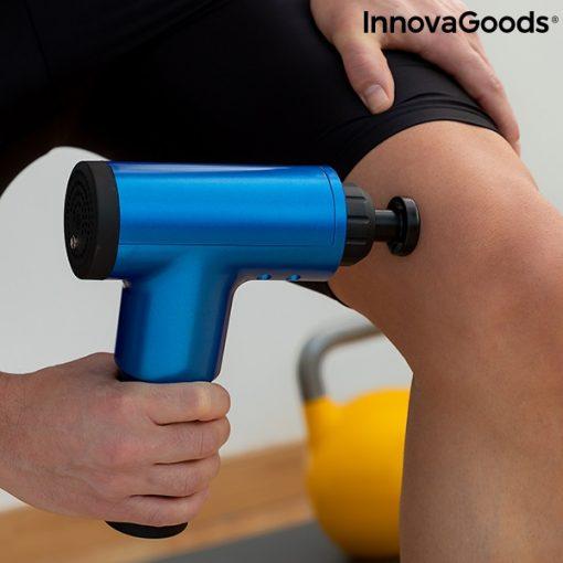 pistolet de massage pour la relaxation et la recuperation musculaire relaxer innovagoods bien etre sport
