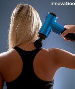 pistolet de massage pour la relaxation et la recuperation musculaire relaxer innovagoods cervicales