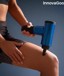 pistolet de massage pour la relaxation et la recuperation musculaire relaxer innovagoods cuisses