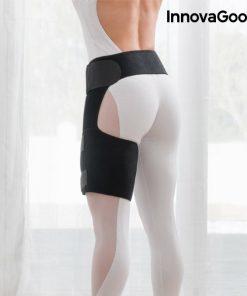 Bande de compression thérapeutique cuisse femme interieur