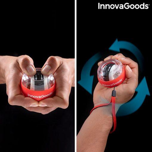 boule gyroscopique entrainement bras mains poignets force mouvements