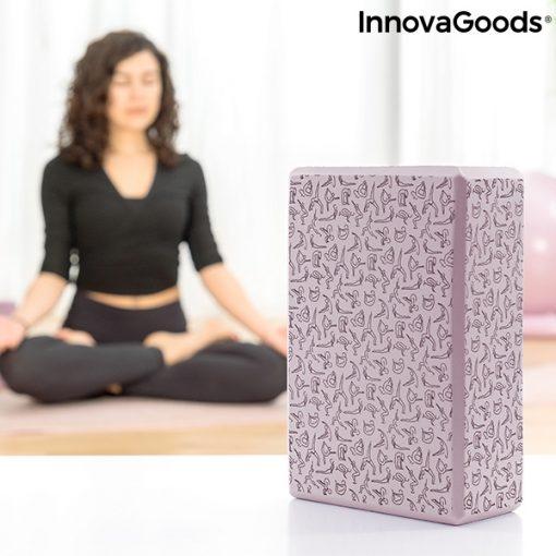 Brique de yoga à motifs detente