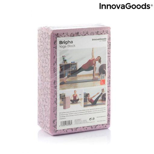 Brique de yoga a motifs emballage