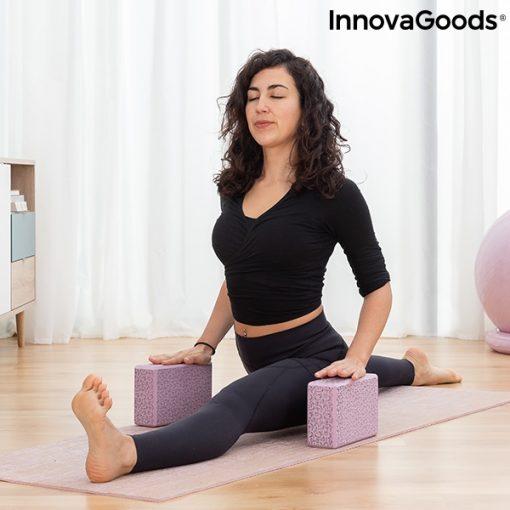 Brique de yoga à motifs relaxation