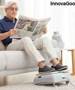 Mini stepper fitness glissant utilisation en lisant