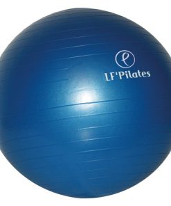 swiss ball ballon bleu 55 cm diametre