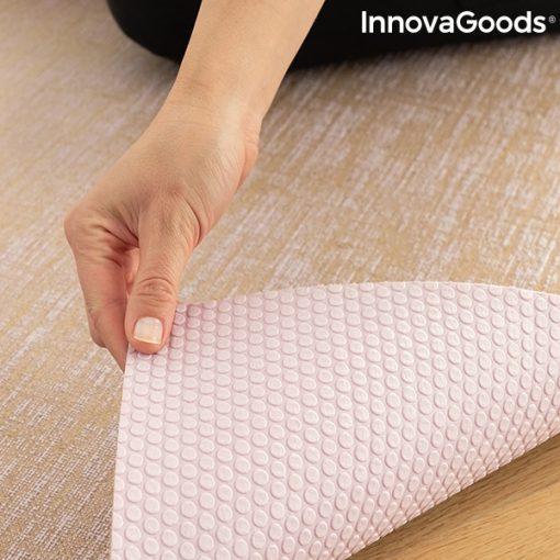Tapis de yoga en jute antiderapant