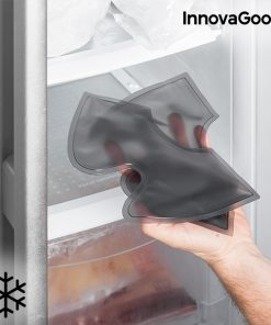 Attelle de cheville de cryotherapie chevillere gel amovible effet froid frigo