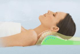oreiller soutien cervicales
