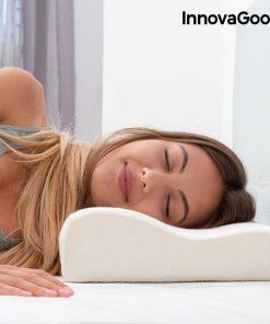 oreiller cervical viscoelastique mousse a memoire de forme confort